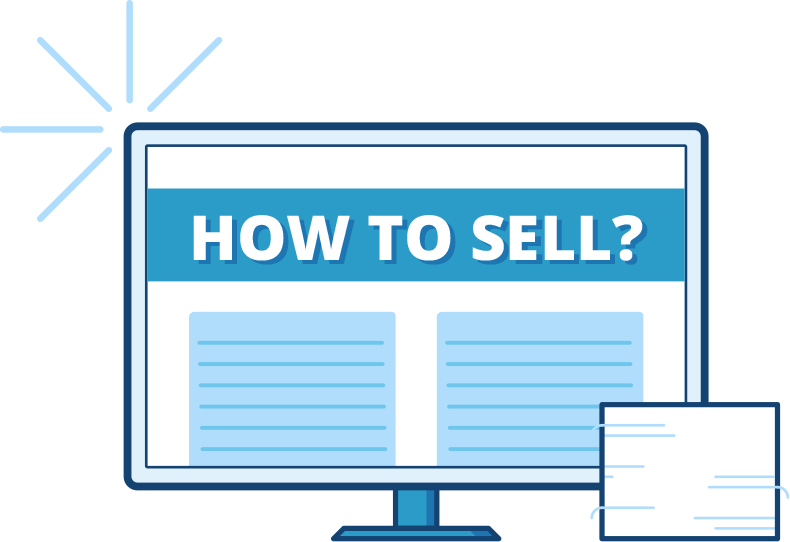 'How Do I Sell?' Illustration