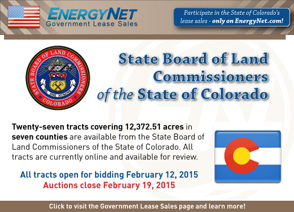 Colorado sale 02-19-2015 SPB