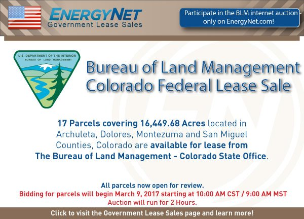 BLM Auction March2017 Colorado updated