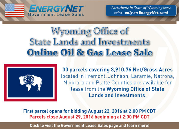 Wyoming Lease Sale August2016 SPB