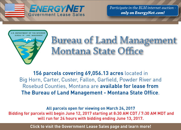 BLM Auction June2017 Montana