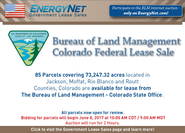 BLM Auction June2017 Colorado Updated