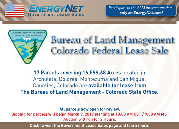 BLM Auction March2017 Colorado