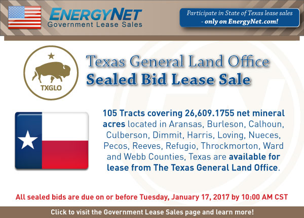 TexasGLO Lease Sale Jan2017 Updated4
