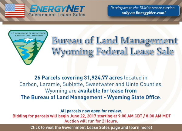 BLM Auction June2017 Wyoming