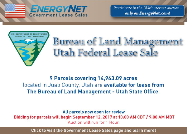 BLM Auction Sept2017 Utah