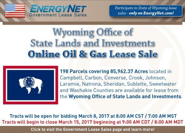 Wyoming Lease Sale March2017 SPB updated 2