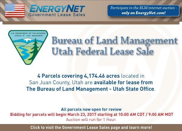 BLM Auction March2017 Utah Updated2