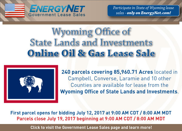 Wyoming Lease Sale July2017 SPB