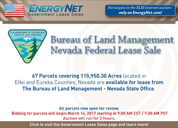 BLM Auction March2017 Nevada