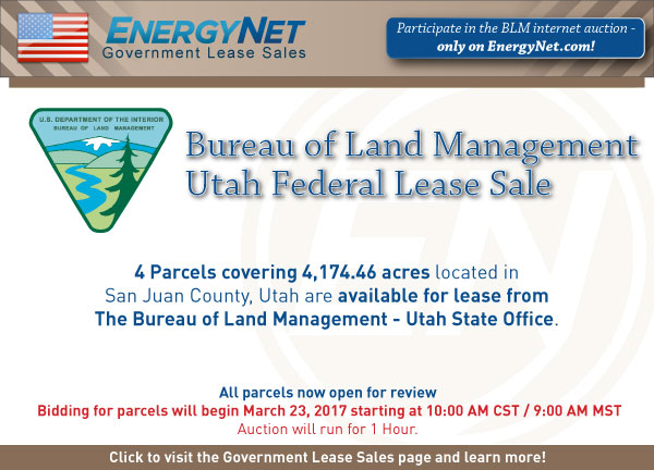 BLM Auction March2017 Utah Updated